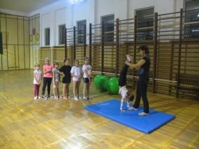 Zajęcia gimnastyczne dla dzieci - Centrum Sztuk Walki i Sportu Leżajsk