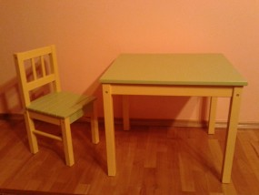 Stolik i krzesełko dla dziecka - MAKSTOL - dom i ogród inż. Kazimierz Żółtek Iwaniska
