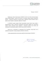 Referencja od firmy Synergia Projekt