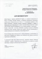 """Referencja od firmy Zakład usługowo Handlowy """"HONORATA"""""""