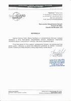 Referencja od firmy OptoScan Spółka Jawna