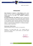 Referencja od firmy POWIAT GOLENIOWSKI