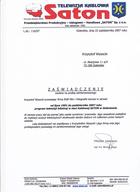 Referencja od firmy TVK SATON Goleniów