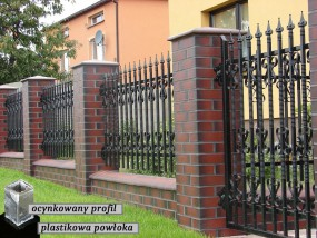 Ogrodzenia plastikowe - P.P.H. MAGRO - Sztachety, balustrady, ogrodzenia plastikowe Bulowice