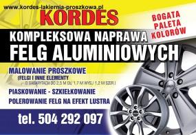 lakiernia proszkowa - F.H.U.KORDES Arkadiusz Rdes Korytów