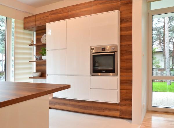 Nowoczesna kuchnia drewniana – Meble kuchenne na wymiar   -> Kuchnia Nowoczesna Z Drewnem