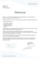 Referencja od firmy Antoni sp. z o.o.