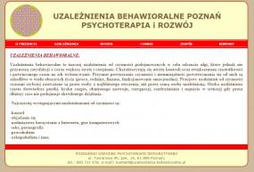 Leczenie uzależnień od substancji i czynności - Poznański Ośrodek Psychoterapii Integratywnej Poznań