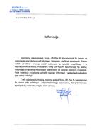 Referencja od firmy BUPRUS Sp. z o.o.