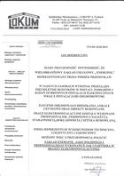 """Referencja od firmy SPÓŁDZIELNIA MIESZKANIOWA """"LOKUM"""""""