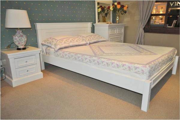 łóżko Stylowe Białe Do Sypialni Meble Rustykalne Producent