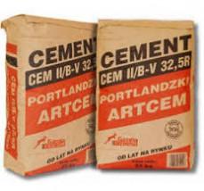 Cement CEM II/B-V 32,5R - Efekt Hurtownia Materiałów Budowlanych Lubawa