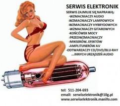 Naprawa wzmacniaczy audio - Serwis Elektronik M&m Poznań