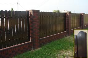 Deski ogrodzeniowe z tworzywa sztucznego - P.P.H. MAGRO - Sztachety, balustrady, ogrodzenia plastikowe Bulowice