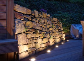Oświetlenie ogrodu, obrazy świetlne - AQUAGARDEN - Ogrody Wodne Ręczno