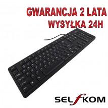 Klawiatura Standardowa TITANUM USB SLIM TK103 - Firma Handlowo-Usługowa SELFKOM Tomasz Roguszczak Świeradów-Zdrój