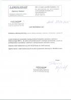 Referencja od firmy Laminadar