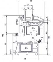 Salamander 76 mm - Standard Okna Drzwi Rolety - montaż Nadarzyn