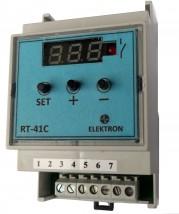 Cyfrowy regulator temperatury RT-41C/-50..+110 C z czujnikiem - P.P.U.  ELEKTRON  s.c. Zielona Góra