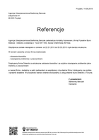 Referencja od firmy Agencja Ubezpieczeniowa Bartłomiej Barczak