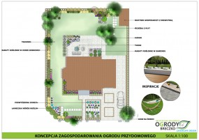 projektowanie ogrodów przydomowych Białystok - Ogrody Breczko