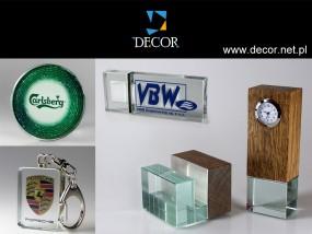 Gadżety reklamowe na zamówienie - producent gadżetów - DECOR - Statuetki, Puchary, Cięcie wodą Zręcin