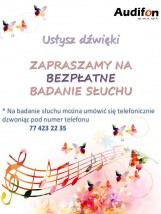 Badanie słuchu - Audifon Sp.zo.o. Sp.k Opole