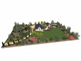 Projekty ogrodów przydomowych - TRANS-GAJ Centrum ogrodnicze i florystyczne Konin