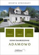 Domy Adamowo - CADLINE Dominik Wojciechowski Wolsztyn