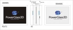 Przycisk do papieru - Power Glass 3D Łukasz Parzuchowski Gdynia