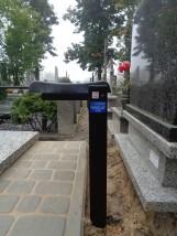 Ławka na cmentarz - Czyszczenie i podnoszenie nagrobków,opieka nad grobem Toruń