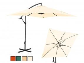 Parasol ogrodowy wiszący prostokątny 200x300cm kolory - MAGNUM-PRO Częstochowa