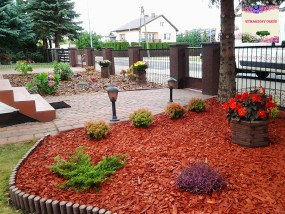 Aranżacje ogrodów - WYMARZONY OGRÓD Konin