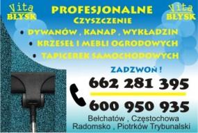 pranie dywanów - Vita Błysk Radomsko