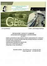 Badania podłoża budowlanego - Geodrom Przedsiębiorstwo Usługowo-Handlowo-Geologiczno-Wiertnicze Kraków