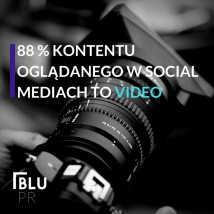 Video marketing, foto - BluPR Gdynia