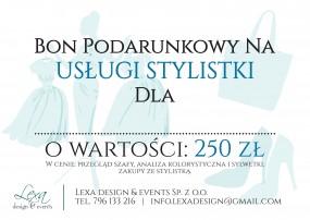 Bon podarunkowy na usługe stylistki - Lexa design & events Spółka z o.o. Mikołów