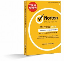 Oprogramowanie Norton Antivirus Basic - F.H.U. Przemysław Skrzypiec Pszów