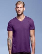 Tri-Blend V-Neck Tee Koszulka z nadrukiem - Spółdzielnia Socjalna Reklamy i Druku Będzin