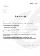 Referencja od firmy DOZ S.A.