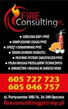 kompleksowa ochrona przeciwpożarowa - FIRE CONSULTING PL Ewa Rzepka Opoczno