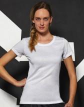 Koszulka z nadrukiem damski t-shirt - Spółdzielnia Socjalna Reklamy i Druku Będzin