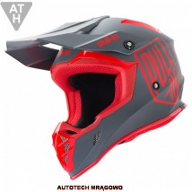 KASK KENNY PULL-IN 2019 Cross Enduro Red Grey - Autotech Robert Zieliński Mrągowo