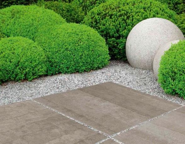 Płyty Zewnętrzne 90x90 Ceramiczne Kamwer Kamienie Grysy