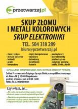 UTYLIZACJA SPRZĘTU KOMPUTEROWEGO - przetwarzaj.pl Sp. z o.o. Niepołomice