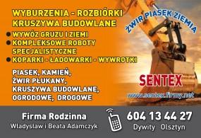Firma wyburzeniowa warmińsko mazurskie wyburzenia rozbiórki - Wyburzenia Rozbiórki Kruszywa Budowlane SENTEX Olsztyn