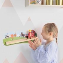 Drewniane zabawki na ścianę - bebe.sklep.pl Domaszowice