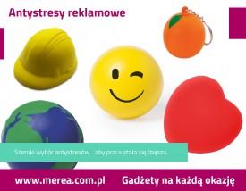 Antystresy reklamowe z logo - Merea Agencja Reklamowa Wrocław