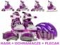 Wrotki rolki łyżwy dla dzieci Będzin - Emix24.pl - zabawki, meble ogrodowe, baseny, elektronika, pojazdy akumulatorowe