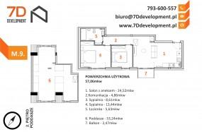 Mega promocja !! Pełne słońca mieszkanie Twoich marzeń - 7D development Radwanice